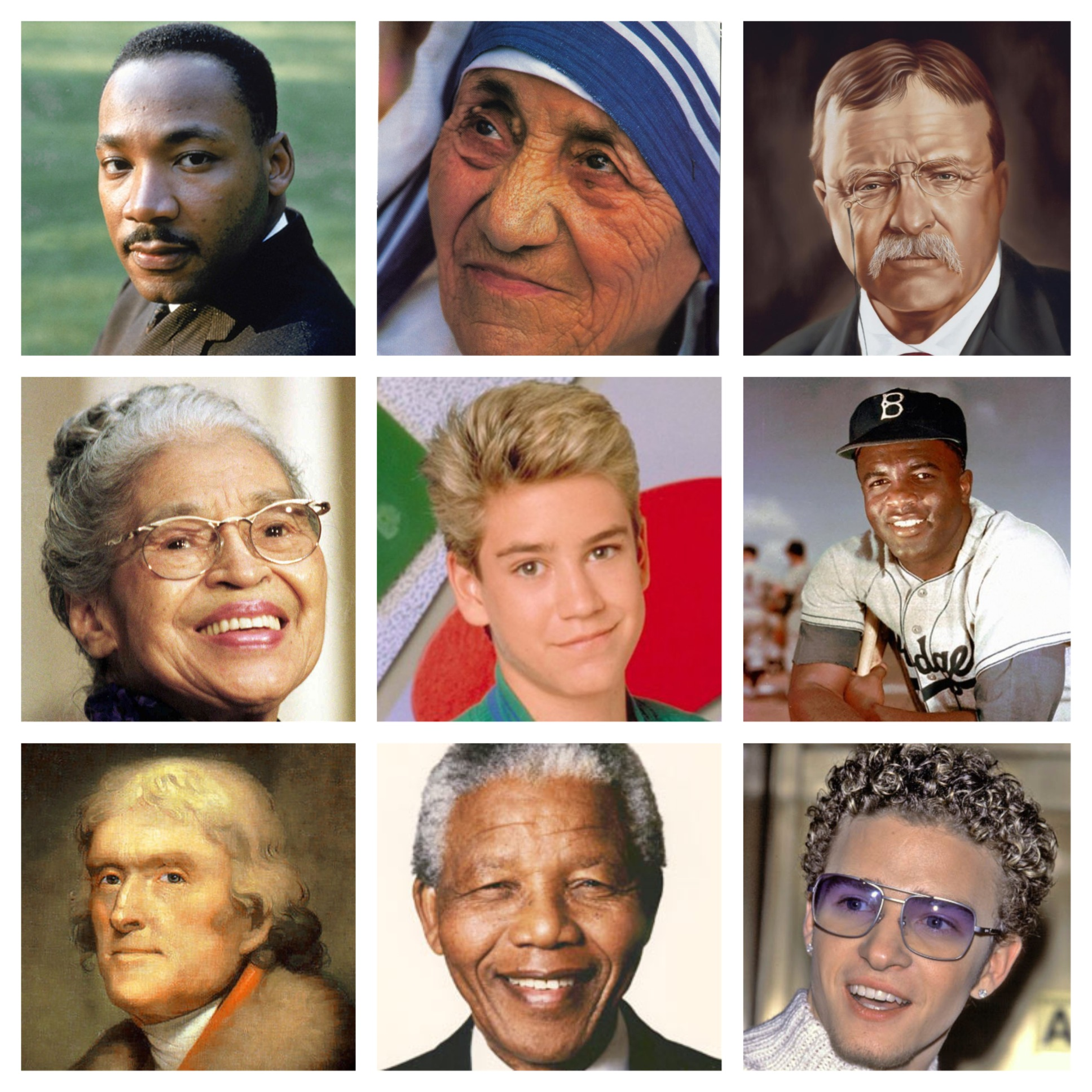 How are Nelson Mandela and Martin Luther king Jr. alike and different?