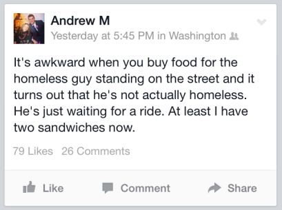 Awkward Homeless