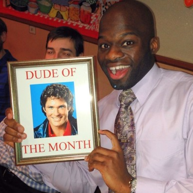 Dude of the Month